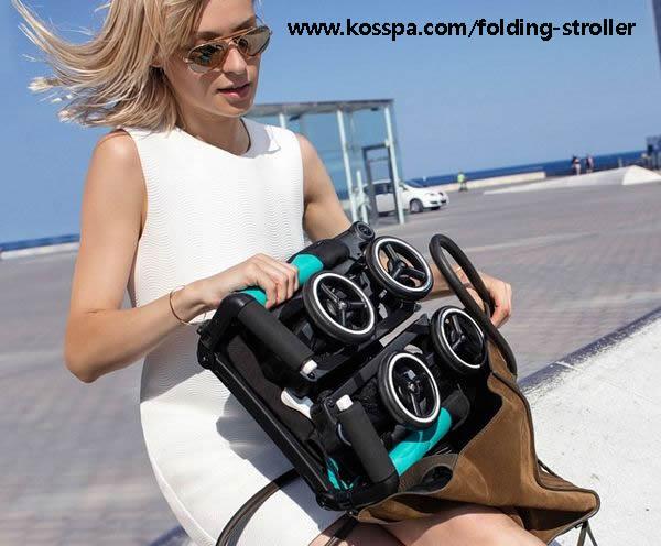 smallest folding stroller