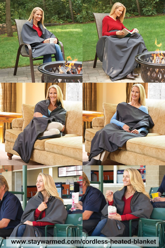 Cordeless Battery Operated Heated Blanket