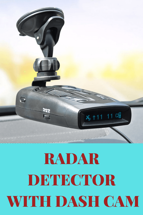 Radar Detector With Dash Cam