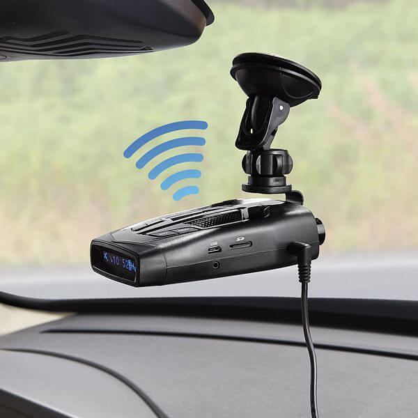 Radar Detector With Dash Camera